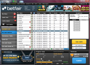betfair-poker-lobby