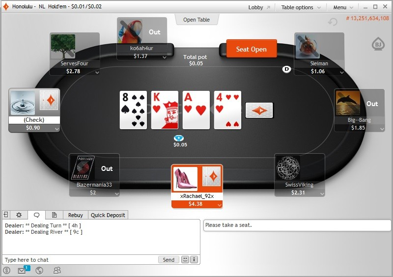 Party poker web browser hard rock seminole casino miami florida
