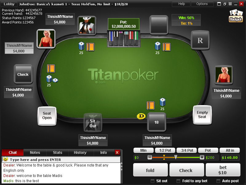 Titan Poker Review - Earn 200% Up To £1200