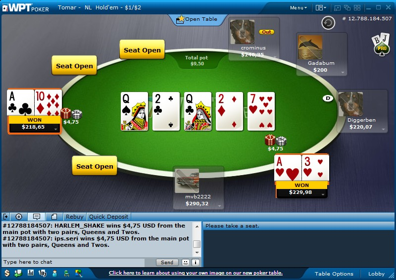 Texas holdem winning combos