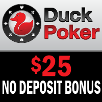 Duck Poker No Deposit Bonus