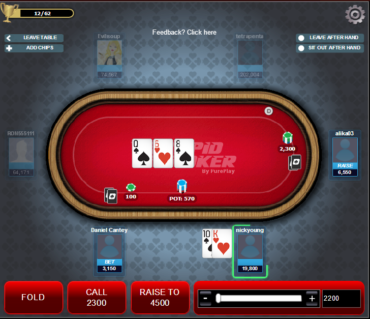 Pure Play Poker