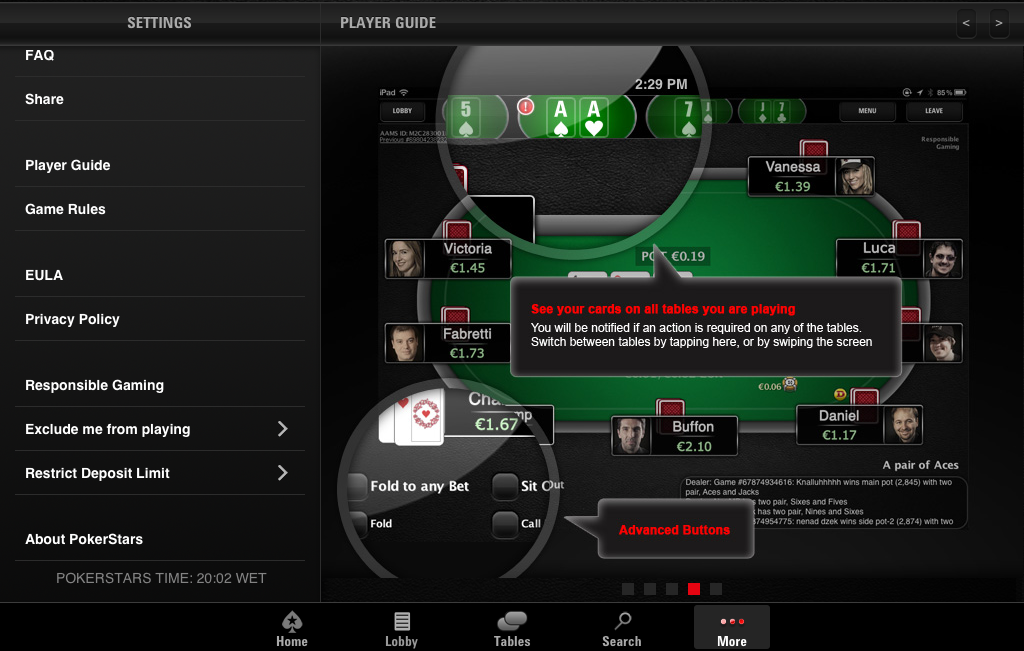 pokerstars mobile app real money
