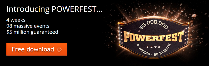 party poker powerfest