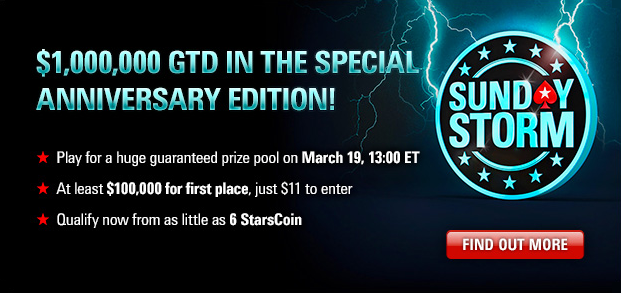 pokerstars sunday storm anniversary