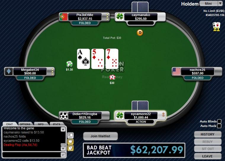 Carbon poker sign up